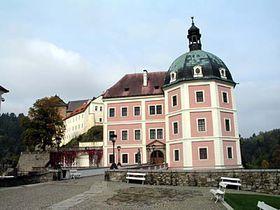 Le château de Bečov