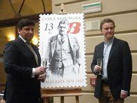 Martin Elkán a Thomas Archer Baťa (vpravo), foto: Zdeňka Kuchyňová