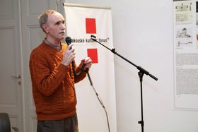 Jan Černý (Foto: Petr Buček, Archiv des Österreichischen Kulturforums)