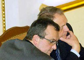 Miroslav Kalousek y Jan Kasal (Foto: CTK)