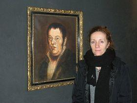 Josef Groll (la pintura) y Monika Contrerasová