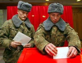 El referéndum en Bielorrusia, foto: CTK
