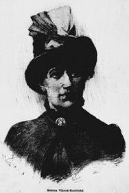 Božena Kunětická Viková, foto: public domain