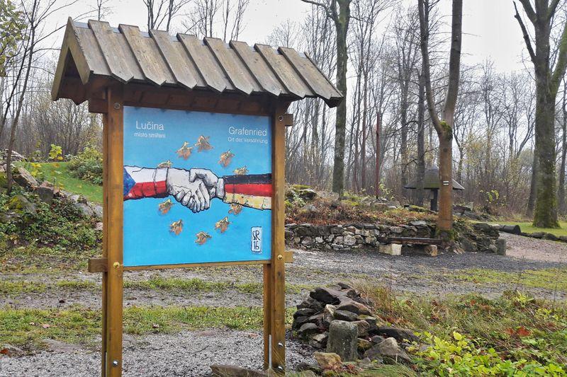 Zaniklá osada Lučina, foto: Martina Klímová, archiv ČRo