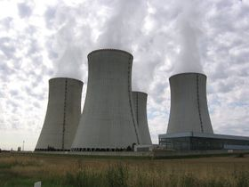 Dukovany nuclear power plant, photo: Dr. Killer, CC BY-SA 3.0