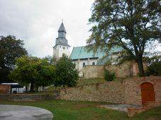 Kostel v Kurdějove, foto: autorka