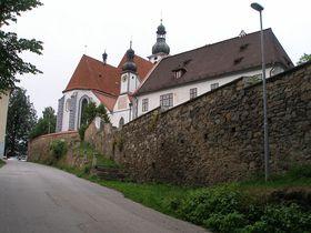 La iglesia del municipio de Kájov, foto: Miloš Hlávka / CC BY-SA 3.0