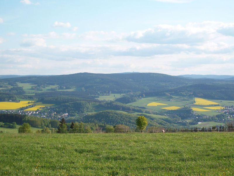 The Ore Mountains, photo: Aagnverglaser, CC BY-SA 4.0