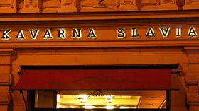Кафе Slavia (Фото: Кристина Макова, Чешское радио - Радио Прага)
