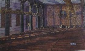 Отмар Скрабал: Театральный зал в лагере Березовка (Фото: Либерецкая галерея)