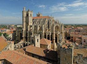 La cathédrale de Narbonne, photo: Benh LIEU SONG, CC BY-SA 3.0