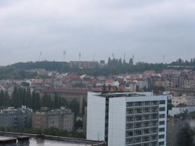 Пражский район Страгов (на холме)
