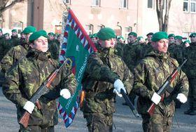 Солдаты противохимического батальона праздновали пять лет членства Чехии в НАТО (Фото: ЧТК)