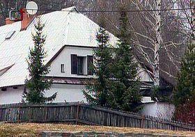 Rekreační chata Jiřího Čunka, foto: ČTK