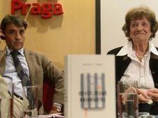 Antonio G. Iturbe y Dita Kraus, foto: ČT