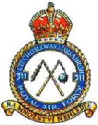Official badge of the No. 311 RAF Squadron
