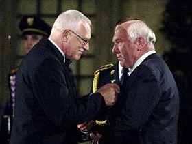 Vaclav Klaus und Franz Olbert (Foto: CTK)
