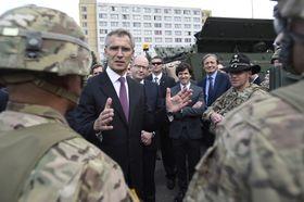 Генеральный секретарь НАТО Йенс Столтенберг в Праге (Фото: ЧТК)