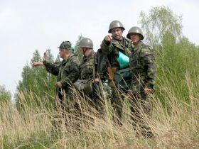 Тренировка активного запаса: Архив Армии ЧР