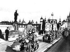 German troops in Prague in 1939, photo: Public Domain
