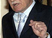 Prezident Václav Klaus, foto: ČTK