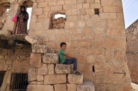 Syrie, photo: Ugur Can/DHA via AP/ČTK