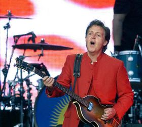 Paul McCartney en Praga, foto: CTK