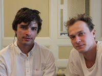Борис Акопов и Юрий Борисов, фото: Александра Баранова