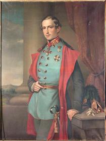 Теодор Зокль, портрет Франца Иосифа (1852),  открытый источник