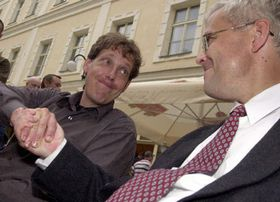 Stanislav Gross y Vladimir Spidla, foto: CTK