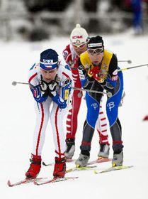 Katerina Neumannová ganó en Falun, foto: CTK