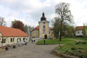 El recinto palaciego de Ctěnice, foto: Dominika Bernáthová