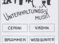 Fritz Weiss Quintett (Quelle: K. Heřmann, Wikimedia)