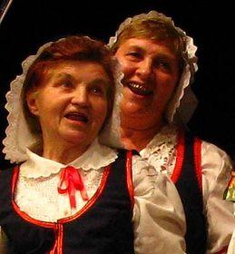 Мария Гушек (слева)