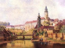 Чешский Крумлов (Bedřich Havránek, 1821-1899)