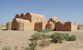 Schloss Qusair ʿAmra (Foto: GregAsche, Wikimedia Commons, CC BY-SA 3.0)