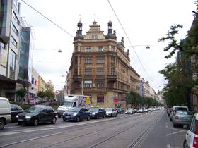Ječná Straße (Foto: ŠJů, Wikimedia Commons, CC BY-SA 3.0)