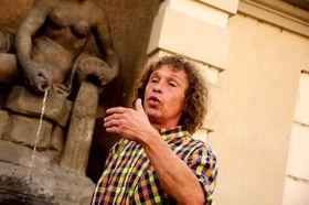 Guía de turistas, Honza Badalec, foto: Archivo del proyecto Pragulic