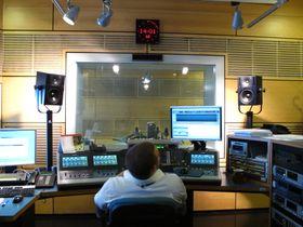 Одна из студий радиостанции, Фото: Архив Радио Прага