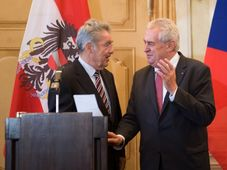 Heinz Fischer und Miloš Zeman (Foto: ČTK)
