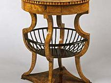 Table à coudre, vers 1820