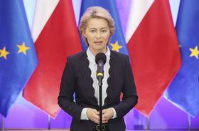 Ursula von der Leyen (Foto: ČTK / AP Photo / Czarek Sokolowski)