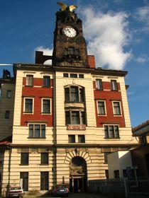 Здание Главного вокзала в Праге архитектора Йозефа Фанты (Фото: Кристина Макова, Архив Чешского радио 7 - Радио Прага)