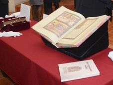 Código de Vyšehrad, foto: Eva Hodková, Biblioteca Nacional