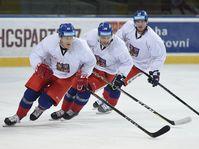 Тренировка хоккейной сборной, фото: ЧТК