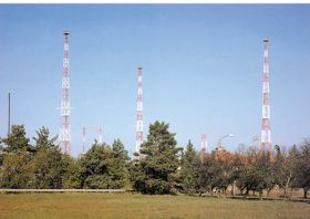 Radio Prague's shortwave transmitters at Litomysl in East Bohemia