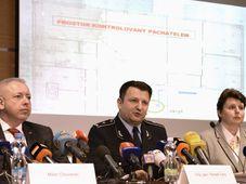 Interior Minister Milan Chovanec, Police President Tomáš Tuhý, Michaela Hýbnerová, photo: CTK