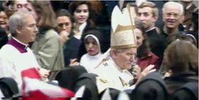 La canonisation d'Agnès de Bohême par le pape Jean-Paul II, photo: ČT24