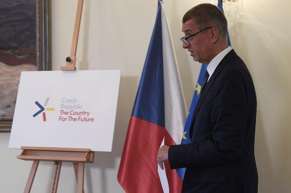 Andrej Babiš presentando  la estrategia de innovaciones hasta 2030, foto: ČTK/Ondřej Deml