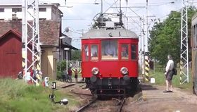 Historic train in Bechyne, photo: YouTube